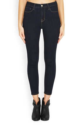 L'AGENCE Margot Skinny Jean in Midnight