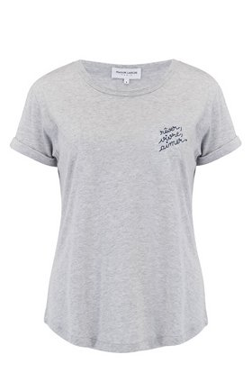 revere vivre aimer t-shirt in grey