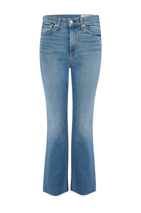 nina high rise jean in levee