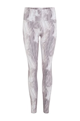 century legging in canvas marble