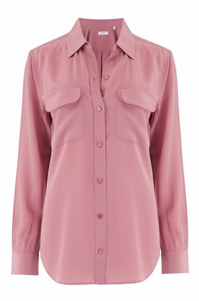 slim signature shirt in mesa rosa