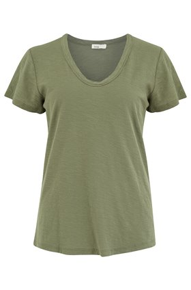 any scoop t-shirt in dusty olive
