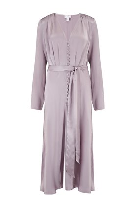 exclusive meryl dress in light grape