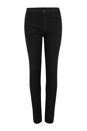 J Brand Ruby High-Rise Cigarette Jean in Vanity (30 Inch Inseam)