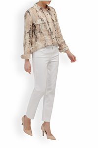 adele mid rise straight jean in blanc
