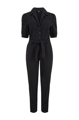mayslie jumpsuit in washed black