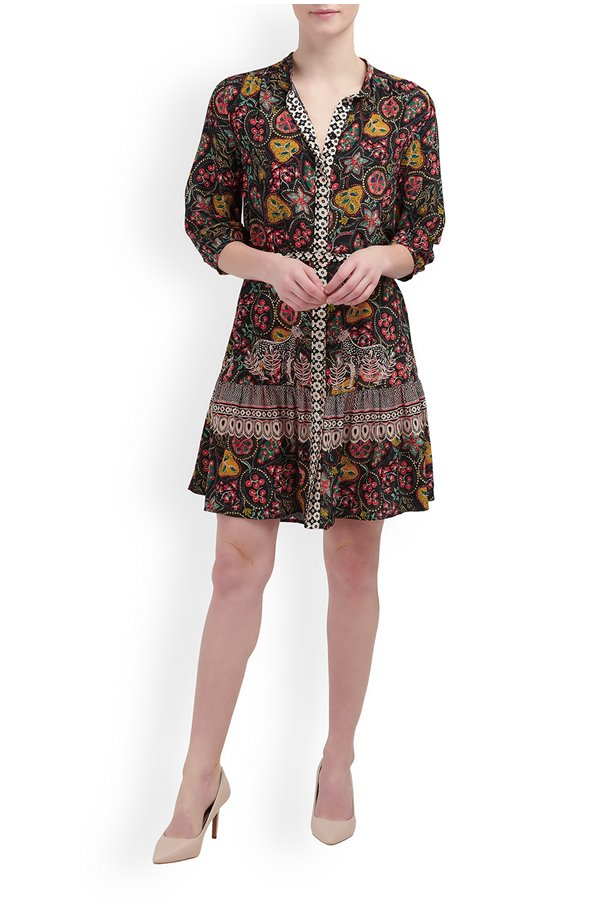 tyra dress in batik border