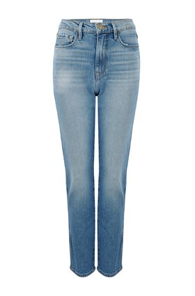 le sylvie slender straight jean in alamitos