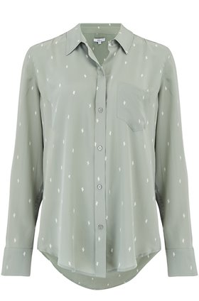 kate shirt in mint cactus