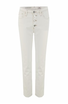 isabelle straight leg jean in moderne white