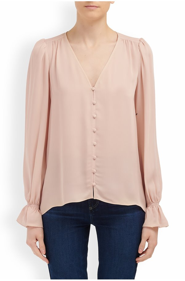 bolona top in pink sky