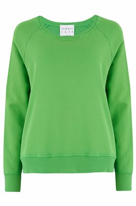 sweatshirt in green