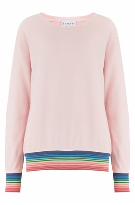 mexican wave sweatshirt in blossom