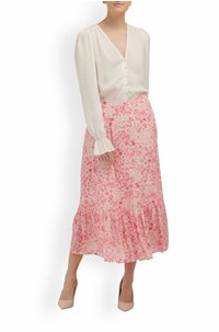 exclusive cleo skirt in pink floral