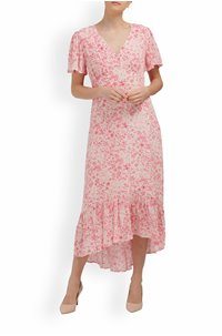 exclusive trixie dress in pink floral