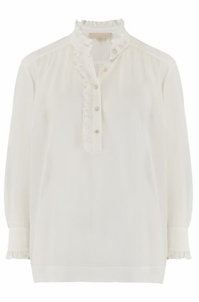 nina blouse in ivory
