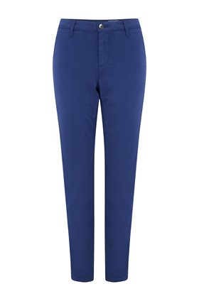 the caden trouser in bright indigo