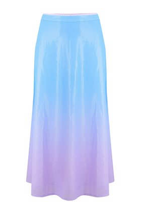 penelope skirt in blue lilac ombre