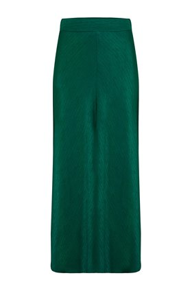 naye slip skirt in emerald