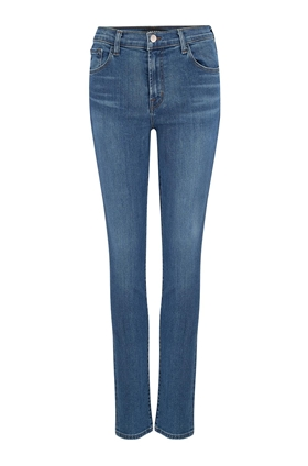 J Brand Ruby High-Rise Cigarette Jean in Lovesick (30 Inch Inseam)