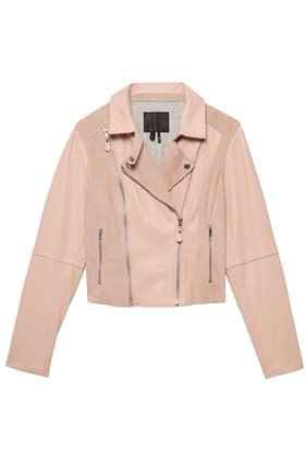 silvie jacket in muted pink