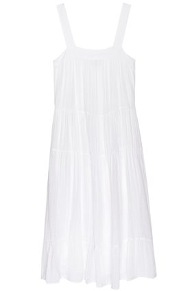 amaya dress in white
