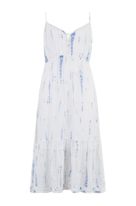 delilah dress in cloud tie dye