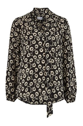 moss printed top in wishing floral
