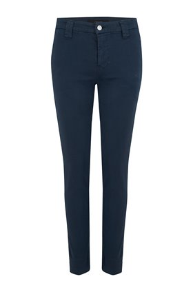 paz slim tapered trouser in dark iris