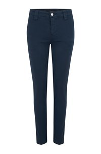 paz slim trouser in dark iris