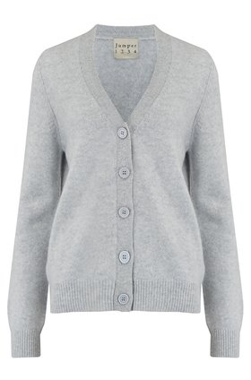 elbow vee cardigan