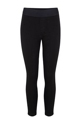 dellah leggings in seriously black eco