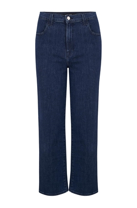 J Brand Joan Wide Leg Cropped Jean in Match