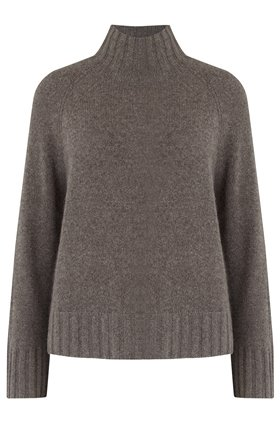 LEIGHTON TURTLENECK JUMPER IN PORCUPINE