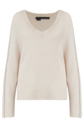 kandice stitch detail jumper in chalk