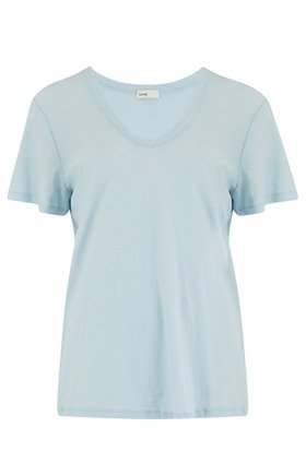 any scoop t-shirt in baby blue