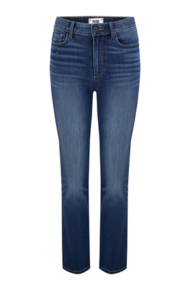 Paige Hoxton Straight Crop Jean in Dixon