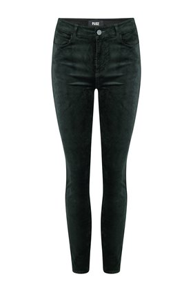 hoxton ankle jean in dark spruce