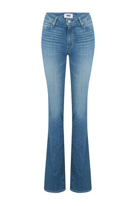 manhattan bootcut jean in spritz distressed