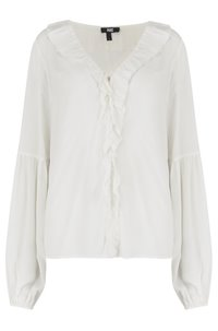 luciano blouse in white