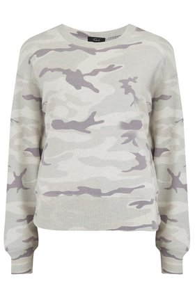ramona top in stone camo