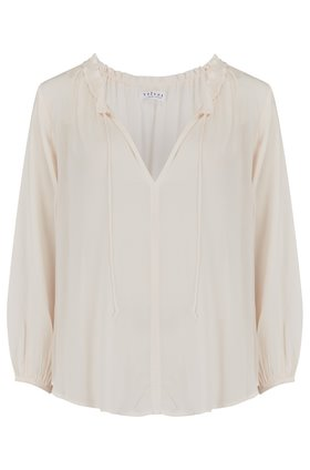 marty blouse in white