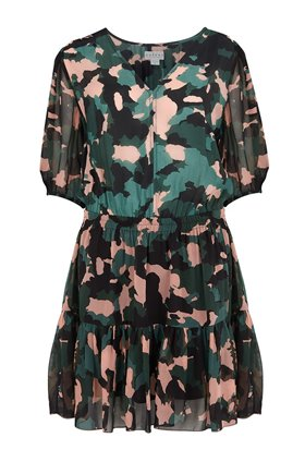 saskia dress in camo