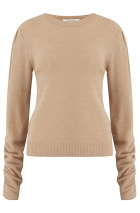 gabby sweater in caramel heather