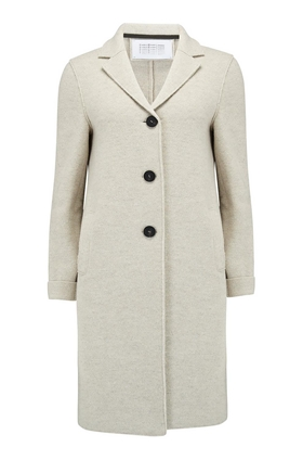 Boxy Coat in Cream