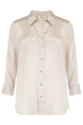 dani shirt in champagne