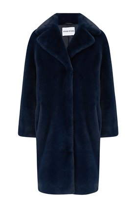 camille coat in navy