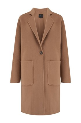 everest coat in camel