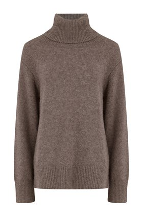 imogen jumper in hazelnut