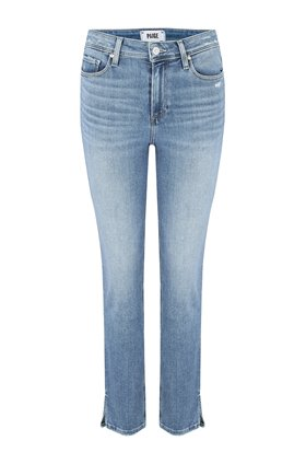 cindy straight leg jean in seaspray distressed
